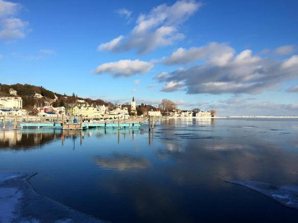 Beautiful cloud reflections at the marina. (Photo: Patrick Conlon)