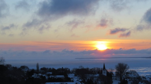 A Clark Bloswick sunrise on February 12.
