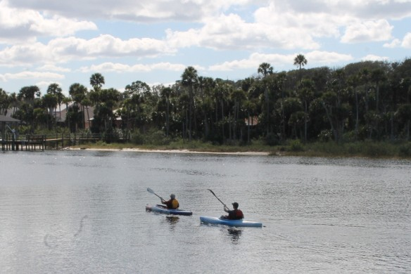 . . . and head south on the Intracoastal.