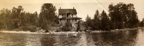 The Les Cheneaux cottage (circa the 1920's).