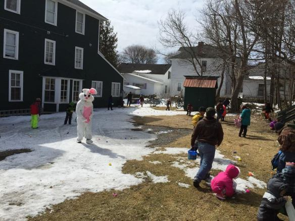 A little cold weather didn't stop the Grand Hotel and the Easter Bunny from holding their annual Easter Egg Hunt!