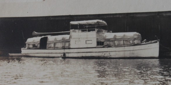 The Sylvia as it appeared when it was purchased . . .