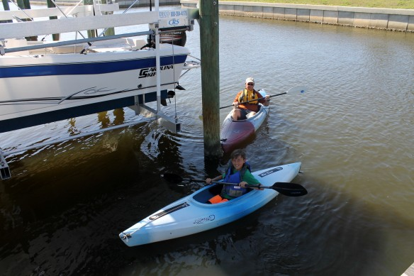 Fun in Florida is an unexpected afternoon with Matthew . . .