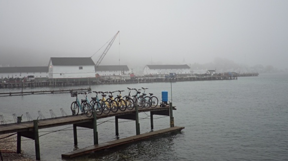 A little fog.  (Photo: Jill Sawatzki)