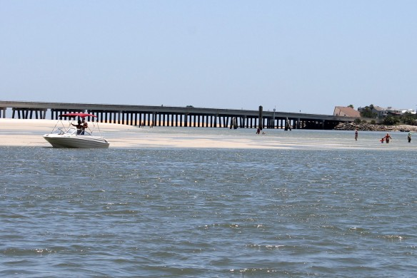 Matanzas Inlet (the outlet from the Intracoastal into the Atlantic) is closed to navigation.