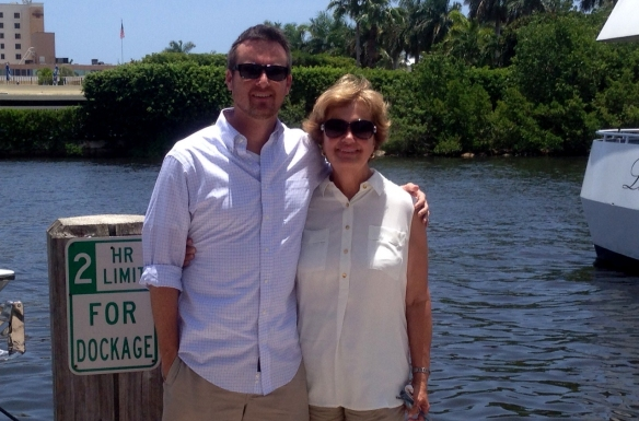 . . . and stopped by Delray Beach for lunch with Blake (it seems everyone in the family except Jason now lives near the water.