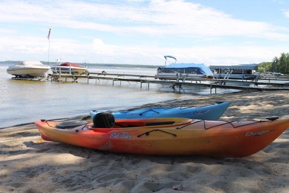 . . . kayaks . . .