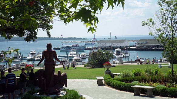 Also from Jill - a view of the harbor from the back of the Peace Garden.
