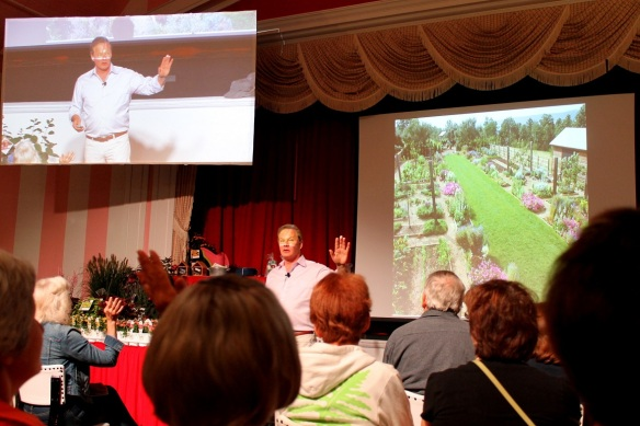 The first morning the keynote speaker was P. Allen Smith, an award-winning designer, gardening and lifestyle expert.