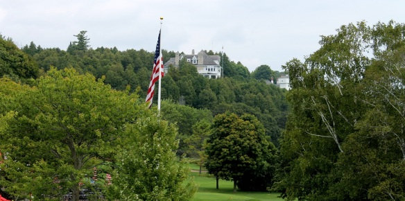 The Michigan Governor's Summer Residence - as seen from the porch at the Grand.
