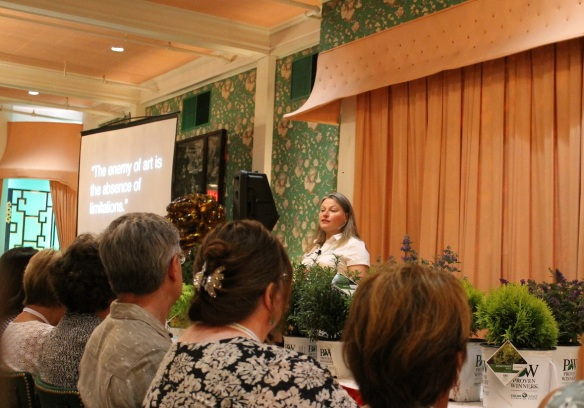 . . . where Stacey Hirvela, a Proven Winners Shrub Expert, gave an informative talk on the Big Impact of Shrubs on Small Spaces.