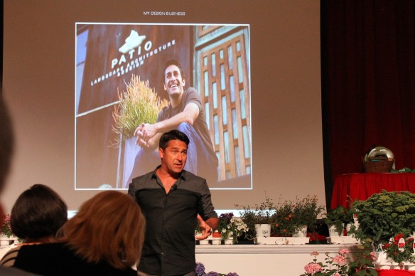 Australian Jamie Durie, who hosted HGTV's The Outdoor Room for five seasons, several garden shows