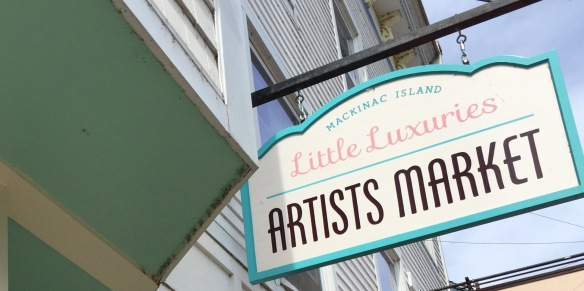 There are several new businesses in town, and one of my favorites is a new shop opened by Nicole Doud, who also owns Little Luxuries of Mackinac Island.