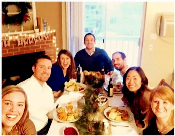Also missing was Blake, who spent Thanksgiving with friends in Ft. Collins. Blake is back there working as a recruiter with ELIC. He'll be home for Christmas!