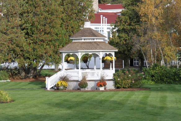 I don't think I took a single photo of the Mission Point Resort gazebo this summer - no idea why not. Thank you, Jackson Pearson!